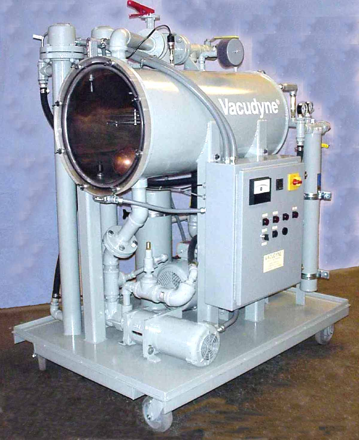 Mobile Oil Filtration System -  3T Oil Purifier System